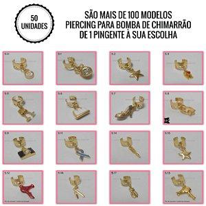 Piercing para Bomba de Chimarrão ♥ 50 unidades ♥