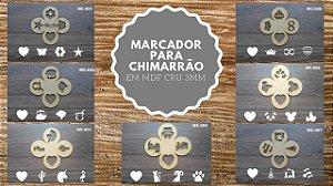 Marcador para Erva de Chimarrão ♥ 10 unidades ♥
