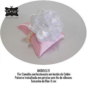 Corsage para Noivas e Madrinhas ♥ PULSEIRA PÉROLAS ♥