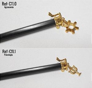Ponteira Dourado PROFISSÃO para Lápis ♥ C11 ♥