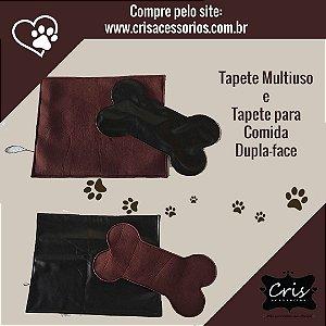 Tapete Multiuso e Tapete para Comedouro para Cães e Gatos