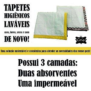 Tapete Higiênico Lavável Pet ♥ 60x80 cm