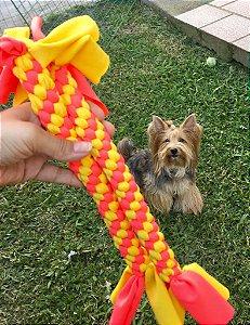 Brinquedo Pet Trançado