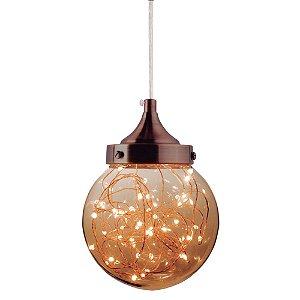 Luminária Pendente Lustre ARA LED 5W Âmbar