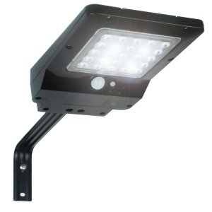 Refletor Luminária Solar Integrada Pública LED 400 Lúmens Placa Completa Ecoforce 40W