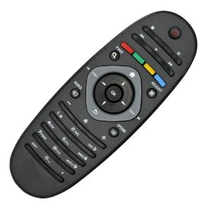 Controle Remoto TV LCD / LED Philips 32PFL3406D / 32PFL3606D / 32PFL4606D / 32PFL4626D / 32PFL5606D / 32PFL7606D / 40PFL3606D8 / 40PFL4626D / 40PFL4606D / 40PFL5606D / 40PFL5806D / 40PFL6606D / 40PFL7606D / 46PFL7606D