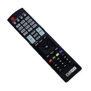 Controle Remoto para  Cinebox Optimo X2