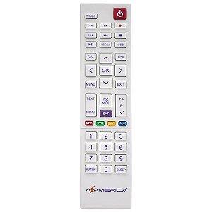 Controle Remoto para Azamérica Silver Ultra HD