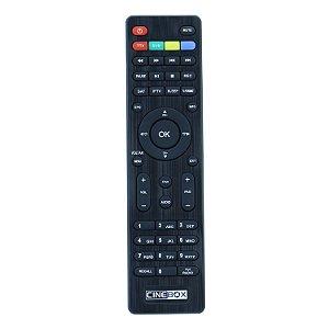 Controle Remoto para Cinebox Fantasia X  Dual 2 Core