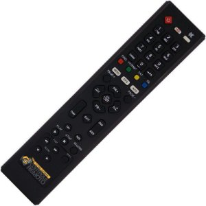 Controle Remoto  Azamérica F90 / S800 / S806 / S807 / S808 / S809 / S810B / S812 / S900 / S912