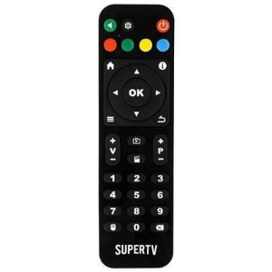 Controle Remoto SuperTv Black X
