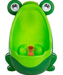 Mictório Infantil Com Ventosas Sapinho Verde - KaBaby