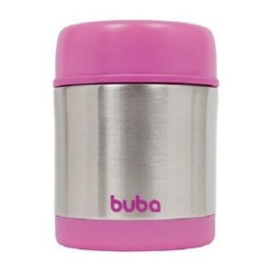 Pote Térmico 1 un INOX 350ml Rosa - Buba