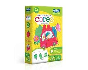 Brinquedo JOGO EDUCATIVO Descobrindo as Cores + 3 anos - Toyster
