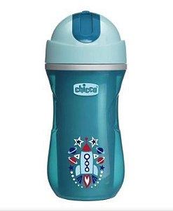 Copo  SPORT CUP 14M+ 266ml Foguete Azul - Chicco