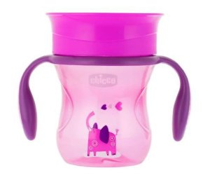 Copo PERFECT CUP 12M+ 200ml Rosa - Chicco
