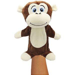 Brinquedo Teatro de FANTOCHES Macaco - UNIK