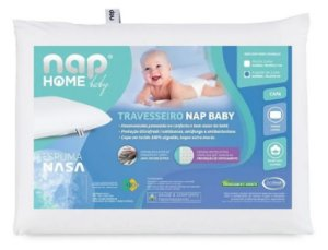 Travesseiro Baby Viscoelástico Espuma NASA - NAP Baby