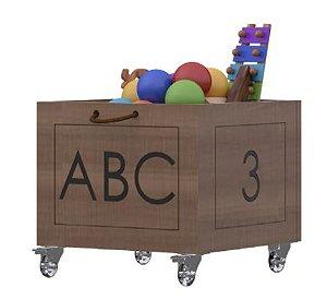 Caixinha Organizador de Brinquedos Coleção Casinha - Divicar