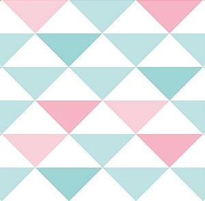Papel de Parede Coleção Brincar Geométrico IV - Bobinex