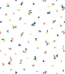 Papel de Parede Coleção Brincar Tetris III - Bobinex