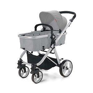 Carrinho de Bebê Passeio Hero TS Cinza - Fisher Price