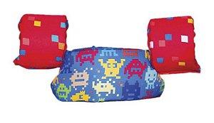 Bóia Colete Infantil Games 14kg - 25kg - Panda Pool