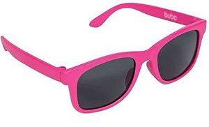 Óculos de Sol Infantil com Armação Flexível Rosa - Buba