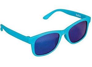 Óculos de Sol Infantil com Armação Flexível Azul Claro - Buba