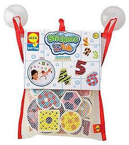 Brinquedo para Banheira com Números e Formas - Ibimboo