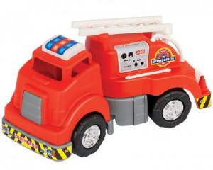 Brinquedo Mercotruck Bombeiro - Mercotoys