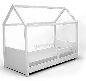 Cama Casinha Montessori com Regulagem de Estrado Crescer - JC Móveis