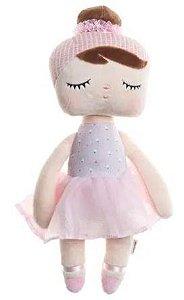 Boneca METOO ANGELA Lai Ballet Rosa 33cm - Metoo