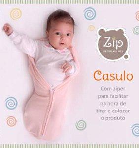 Casulo Swaddle Rosa - Zip
