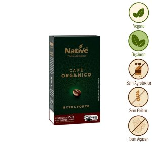 Café Extraforte Orgânico Native (250g)