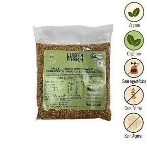 Linhaça Dourada Orgânica Vale Ecológico (200g)