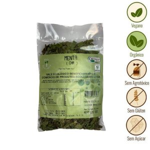 Chá de Menta Orgânico Vale Ecológico (15g)