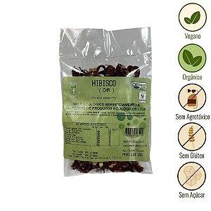 Chá de Hibisco Orgânico Vale Ecológico (15g)