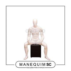 Manequim Masculino Sentado