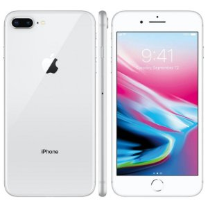SMARTPHONE APPLE IPHONE 8 PLUS 64GB PRATEADO