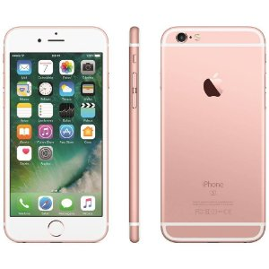 SMARTPHONE APPLE IPHONE 6S 128GB OURO ROSA