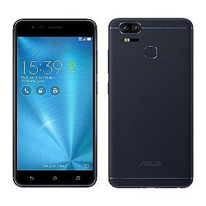 """SMARTPHONE ASUS ZENFONE 3 ZOOM ZE553KL 4RAM 64GB TELA 5.5"""" LTE DUAL PRETO"""