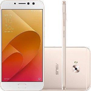 "SMARTPHONE ASUS ZENFONE 4 SELFIE PRO ZD552KL 4GB 64GB TELA 5.5"" DUAL DOURADO"