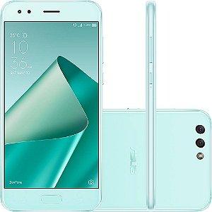 """SMARTPHONE ASUS ZENFONE 4 ZE554KL 3RAM 32GB TELA 5.5"""" LTE DUAL VERDE"""