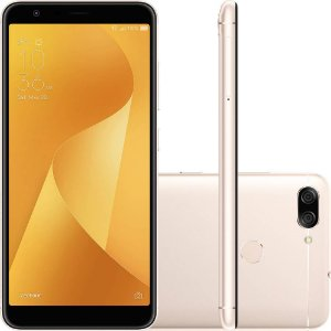 "SMARTPHONE ASUS ZENFONE MAX PLUS ZB570TL 4RAM 64GB TELA 5.7"" LTE DUAL DOURADO"