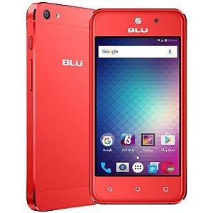 """SMARTPHONE BLU VIVO 5 MINI V051EQ 1RAM 8GB TELA 4.0"""" 3G DUAL VERMELHO"""