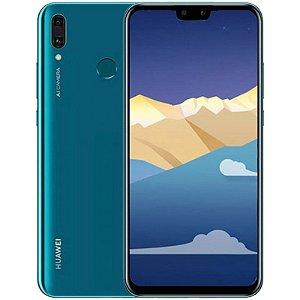 """SMARTPHONE HUAWEI Y9 2019 JKM-LX3 3RAM 64GB TELA 6.5"""" LTE DUAL AZUL"""