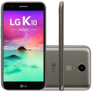"SMARTPHONE LG K10 M250E 1.5RAM 16GB TELA 5.3"" LTE DUAL GRAFITE"