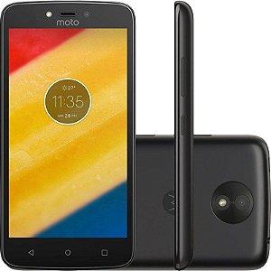 "SMARTPHONE MOTOROLA MOTO C 1RAM 16GB TELA 5.0"" LTE DUAL PRETO"