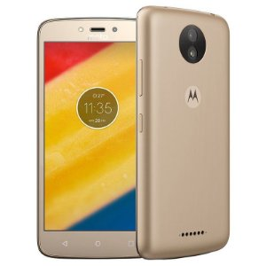 "SMARTPHONE MOTOROLA MOTO C PLUS XT1724 1RAM 16GB TELA 5.0"" LTE DUAL DOURADO"